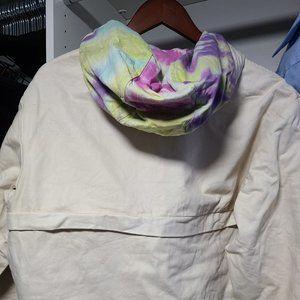 Online Ceramics Brand Hoodie-   Custom Tye Dye MED
